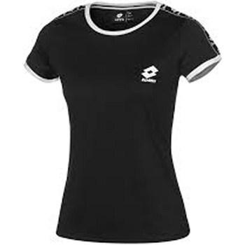 Abbigliamento Donna T-shirt maniche corte Lotto t5829-athletica-tee-js-w Maniche Corte Donna Blk-nero Blk-nero