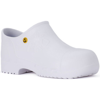 Scarpe Scarpe da lavoro Calzuro PRO SAFETY BIANCO Bianco