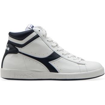 Scarpe Sneakers alte Diadora GAME P HIGH C4656 - WHITE-BLUE DENIM