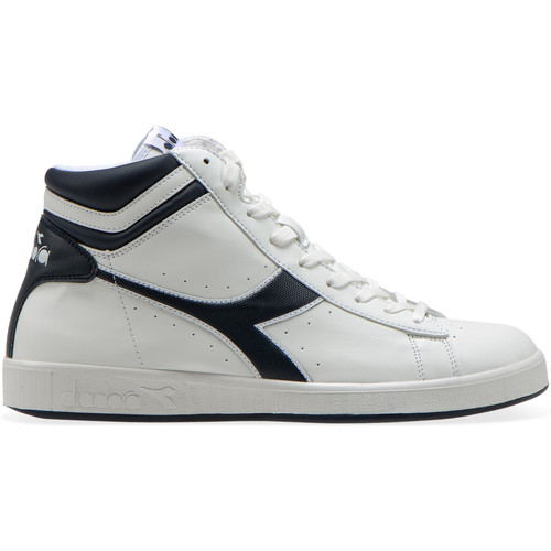 Gratuita Sneakers Alte Consegna Game Diadora 4800 High P White Scarpe blue Denim C4656 lKJuc5TF31