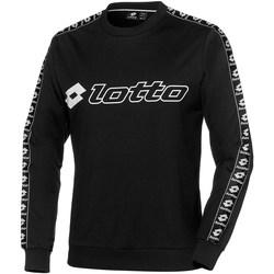 Abbigliamento Uomo Felpe Lotto T6451-ATHLETICA-SWEAT-RN Blk-nero
