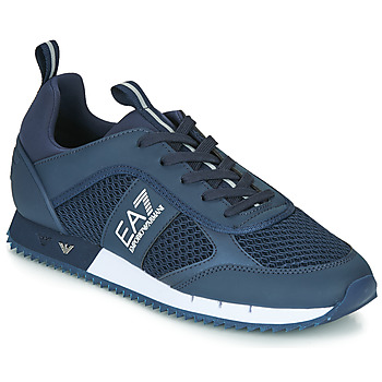 Scarpe Uomo Sneakers basse Emporio Armani EA7 BLACK&WHITE LACES U Blu