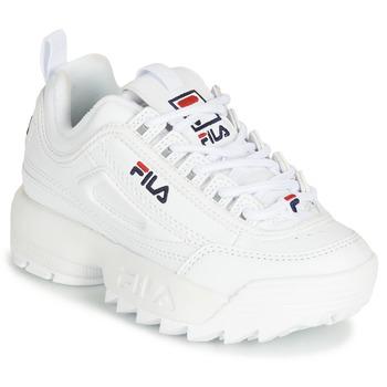 Scarpe Unisex bambino Sneakers basse Fila DISRUPTOR KIDS Bianco