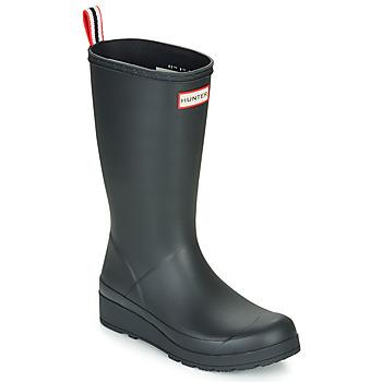 Scarpe Donna Stivali da pioggia Hunter ORIGINAL PLAY BOOT TALL Nero