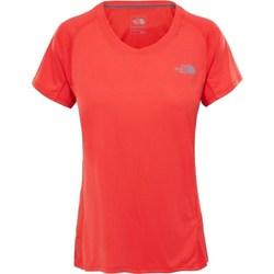 Abbigliamento Donna T-shirt maniche corte The North Face Tshirt Ambition Arancio