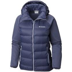Abbigliamento Donna Piumini Columbia Explorer Falls Hybrid Blu marino