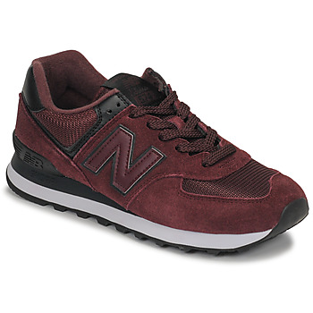 Scarpe Donna Sneakers basse New Balance 574 Bordeaux