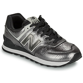 Scarpe Donna Sneakers basse New Balance 574 Nero / Argento