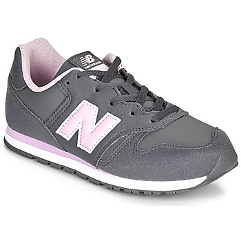 Scarpe Bambina Sneakers basse New Balance 373 Grigio / Rosa