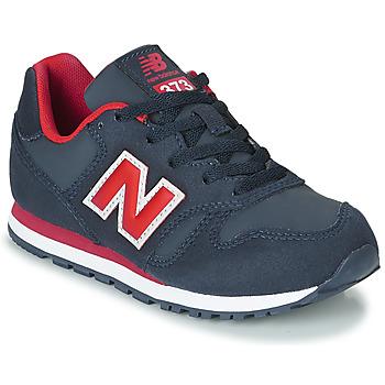Scarpe Unisex bambino Sneakers basse New Balance 373 Blu / Rosso
