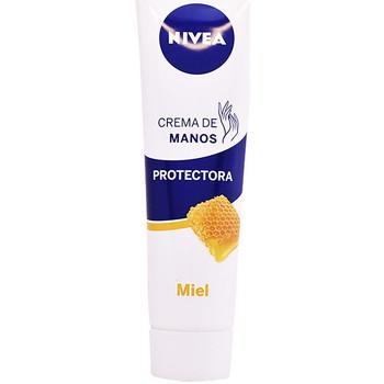 Bellezza Trattamento mani e piedi Nivea Miel Crema Manos Protectora  100 ml