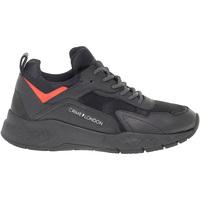 Scarpe Uomo Sneakers basse Crime London Sneakers  KOMRAD in pelle nero
