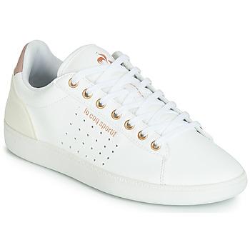 Scarpe Donna Sneakers basse Le Coq Sportif COURTSTAR W BOUTIQUE Bianco / Rosa
