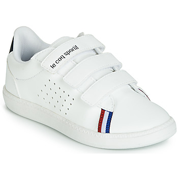 Scarpe Unisex bambino Sneakers basse Le Coq Sportif COURTSTAR PS SPORT BBR Bianco