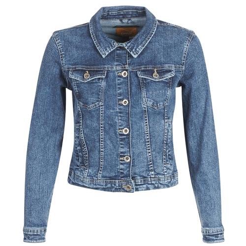 Abbigliamento Donna Giacche in jeans Only ONLTIA Blu / Medium