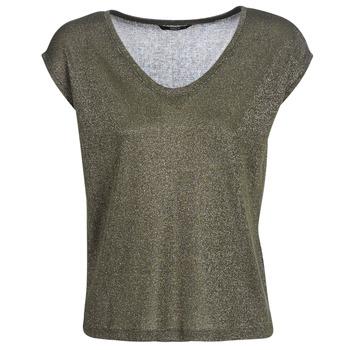 Abbigliamento Donna T-shirt maniche corte Only ONLSILVERY Kaki