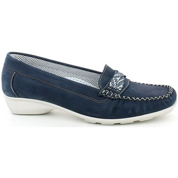 Scarpe Donna Mocassini Slight 393.06_37 BLU