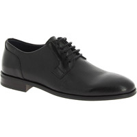Scarpe Uomo Derby Raymont scarpe stringate uomo artigianali in pelle nera effe nero