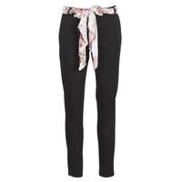 Abbigliamento Donna Pantaloni 5 tasche Casual Attitude JIYOO Nero