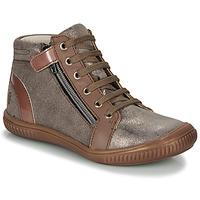 Scarpe Bambina Sneakers alte GBB RACHIDA Marrone