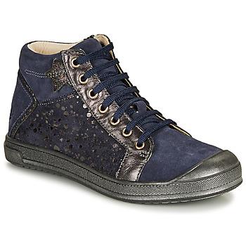 Scarpe Bambina Sneakers alte GBB ORENGETTE Blu