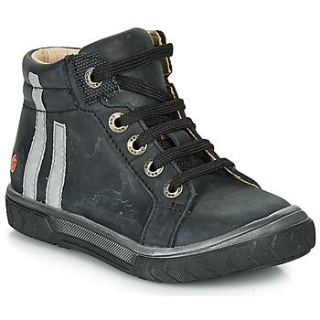 Scarpe Bambino Sneakers alte GBB OSKOF Nero