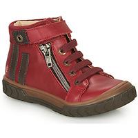 Scarpe Bambino Sneakers alte GBB OMAHO Rosso