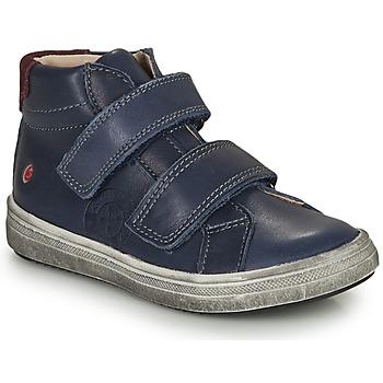 Scarpe Bambino Sneakers alte GBB NAZAIRE Blu