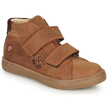 Scarpe Bambino Sneakers alte GBB NAZAIRE Marrone