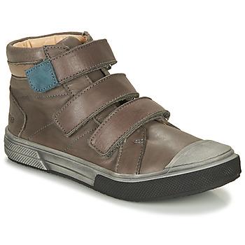 Scarpe Bambino Sneakers alte GBB OSHIRO Grigio