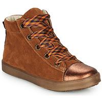 Scarpe Bambina Sneakers alte GBB OUSTILLE Cognac