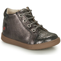 Scarpe Bambina Sneakers alte GBB FAMIA Grigio / Argento