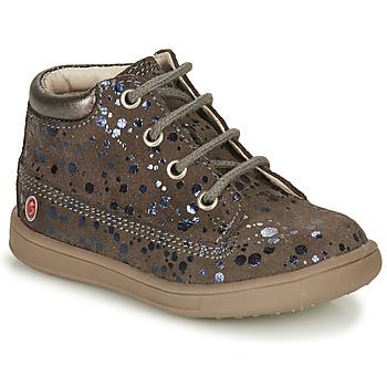 Scarpe Bambina Sneakers alte GBB NINON Taupe