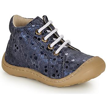 Scarpe Bambina Sneakers alte GBB VEDOFA Blu