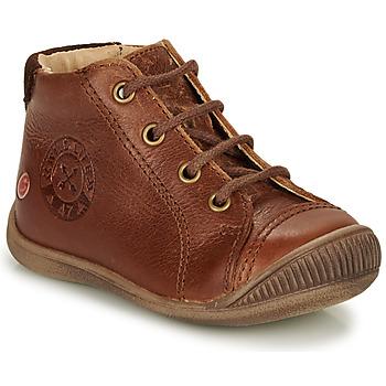 Scarpe Bambino Sneakers alte GBB NOE Marrone