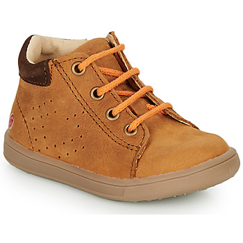 Scarpe Bambino Sneakers alte GBB FOLLIO Cognac