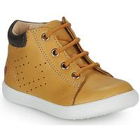 Scarpe Bambino Sneakers alte GBB FOLLIO Ocre