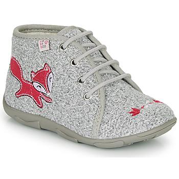 Scarpe Bambina Pantofole GBB OTRALEE Grigio / Rosa