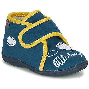 Scarpe Bambino Pantofole GBB OKANDI Blu / Giallo