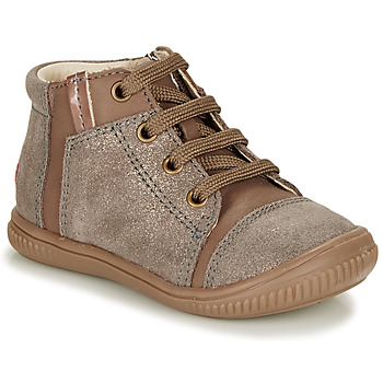 Scarpe Bambina Sneakers alte GBB OUNA Beige
