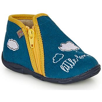 Scarpe Bambino Pantofole GBB OUBIRO Blu / Giallo