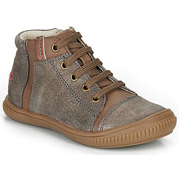 Scarpe Bambina Sneakers alte GBB OUNA Taupe