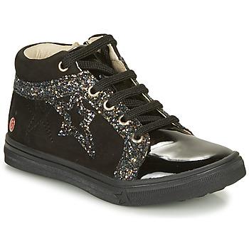 Scarpe Bambina Sneakers alte GBB NAVETTE Nero
