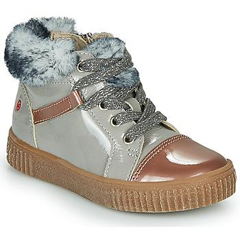 Scarpe Bambina Sneakers alte GBB ORBA Grigio