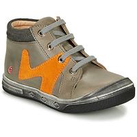 Scarpe Bambino Sneakers alte GBB OLINOU Grigio