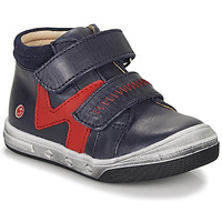 Scarpe Bambino Sneakers alte GBB OGROU Blu / Rosso