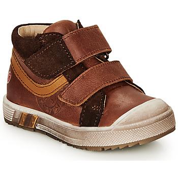 Scarpe Bambino Sneakers alte GBB OMALLO Marrone