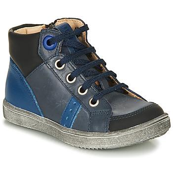 Scarpe Bambino Sneakers alte GBB ANGELITO Blu