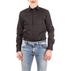 Abbigliamento Uomo Camicie maniche lunghe Antony Morato MMSL00293-FA450001-CAMICIA 9000-nero