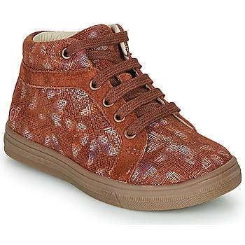 Scarpe Bambina Sneakers alte GBB OMBLINE Brique